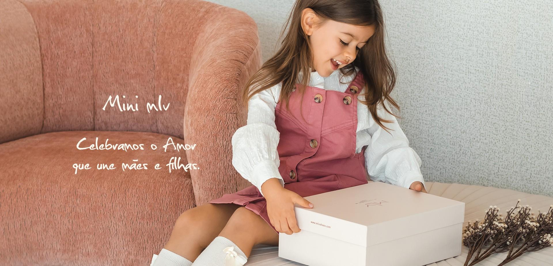 Mini MLV Shoes calçado de criança