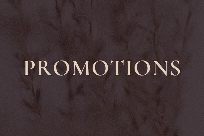 Autumn-Winter Promotions 2020/2021