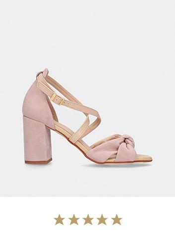 Chaussures MLV Nude Sandales à talons hauts