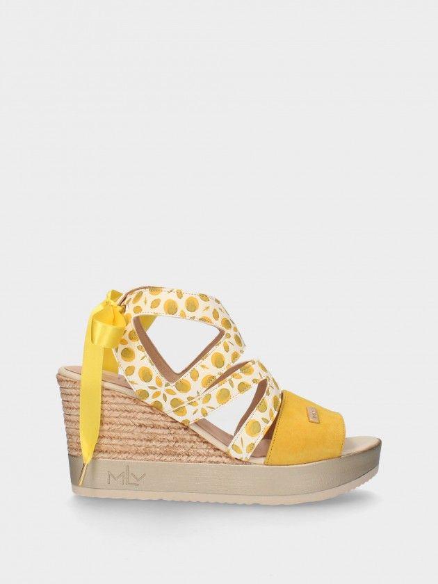 Sandale Compensée Haut