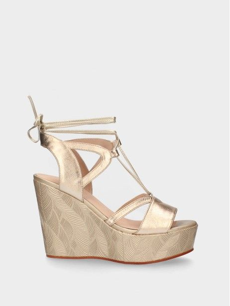 High Wedge Sandal