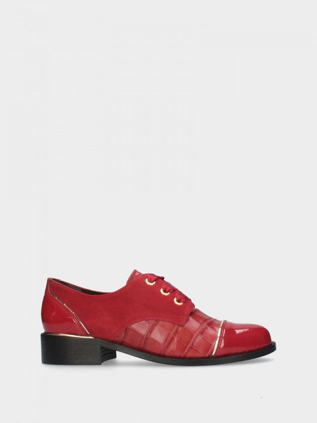 Sapatos Derby de Salto Raso