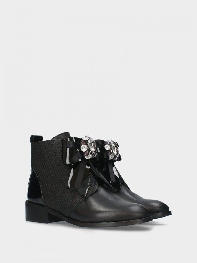 Flat Heel Ankle Boot