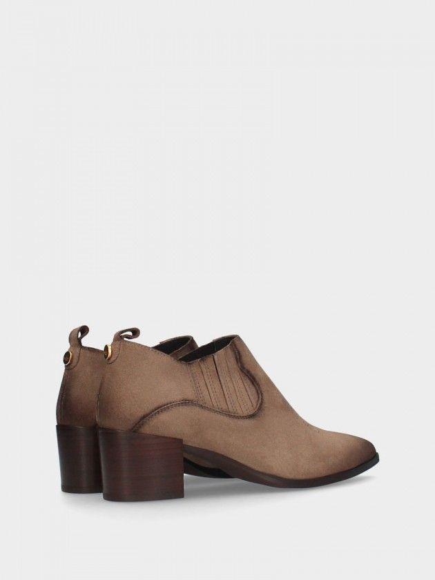 Medium Heel Ankle Boot