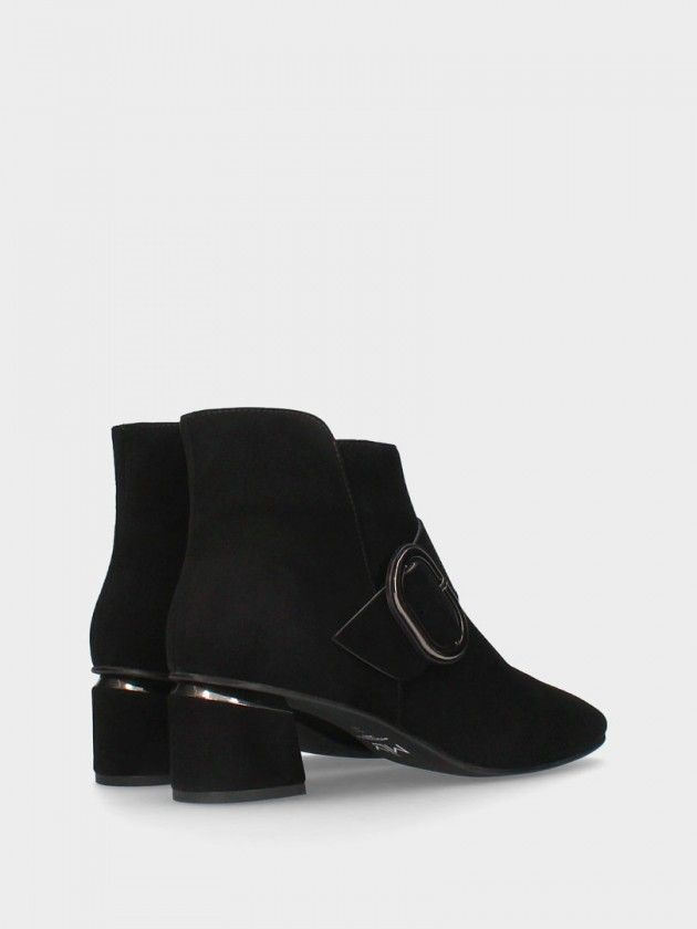 Medium Heel Ankle Boot