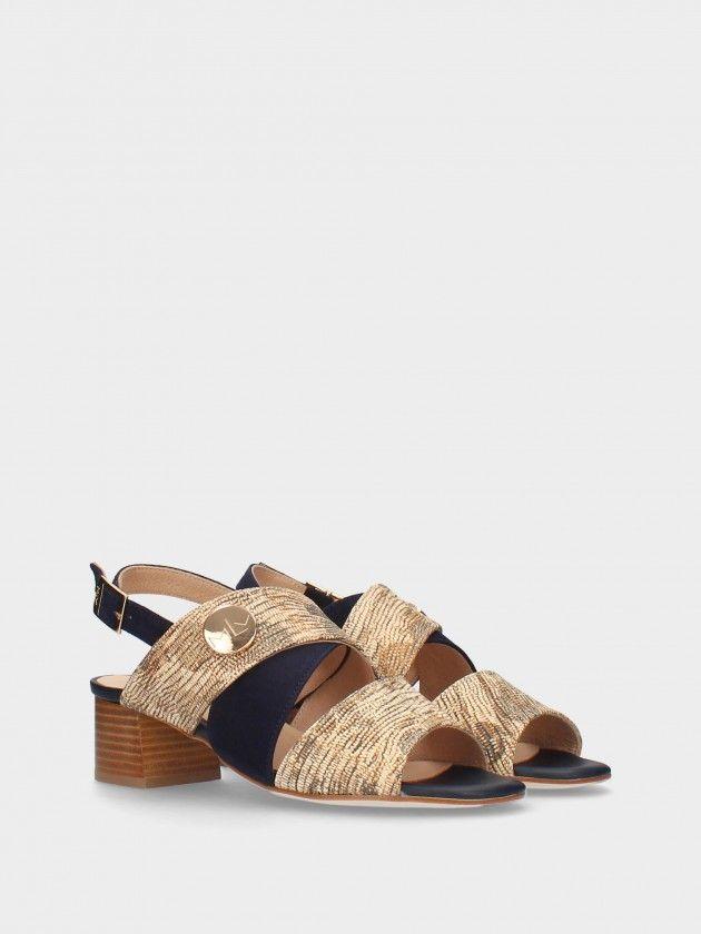 Sandále À Talon Midi