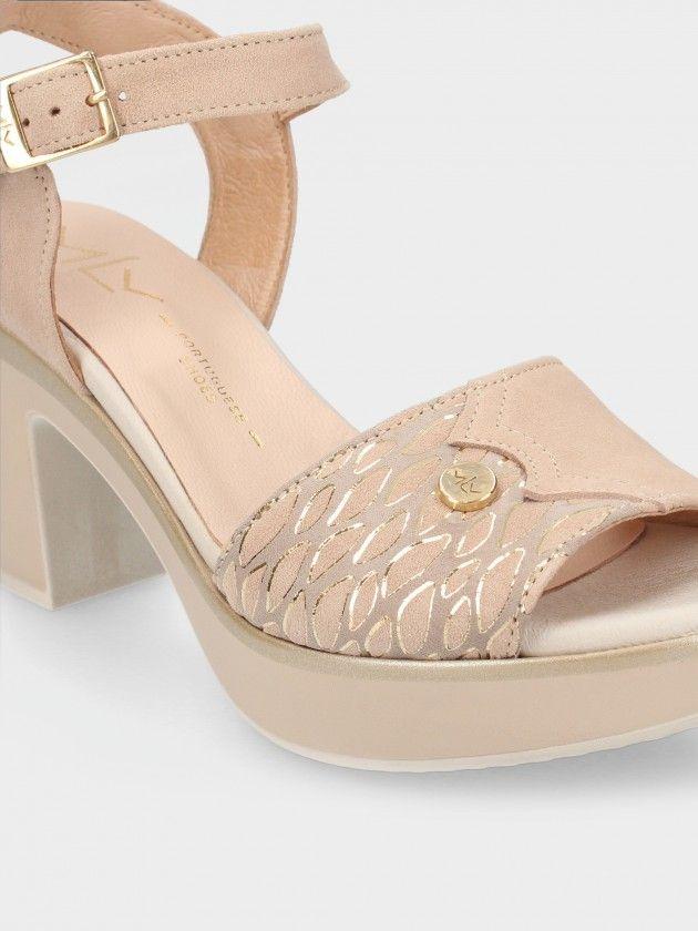 Mid Heel Sandal