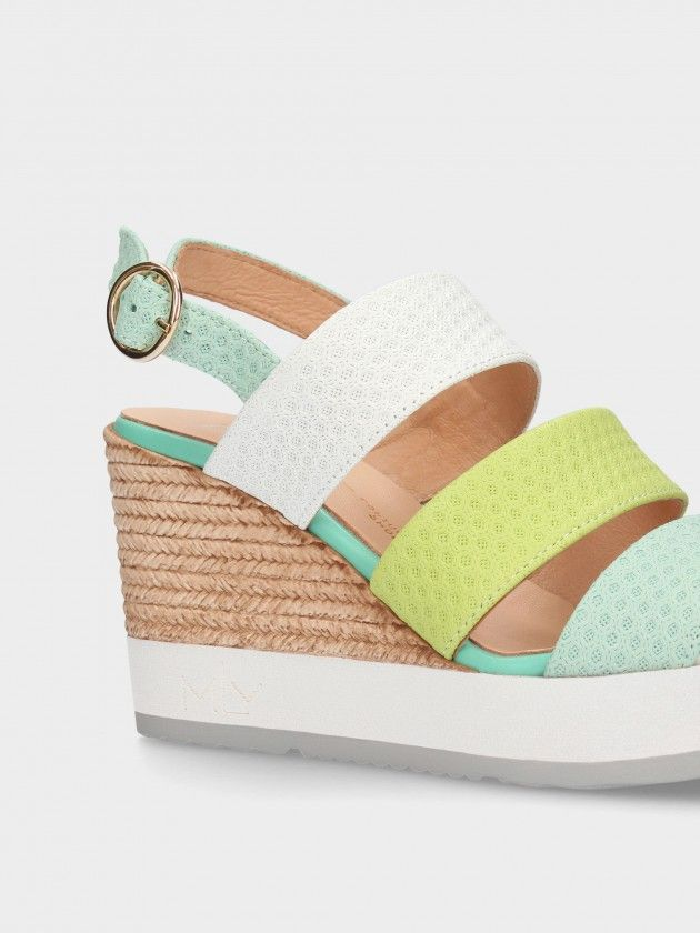 Sandálias de Cunha Alta