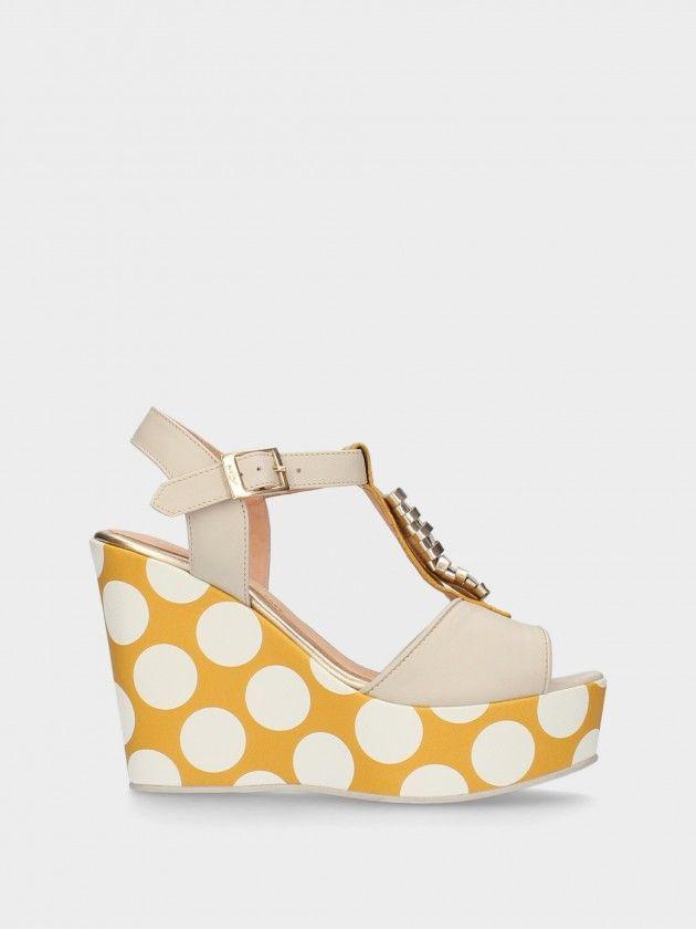 High Wedge Sandals