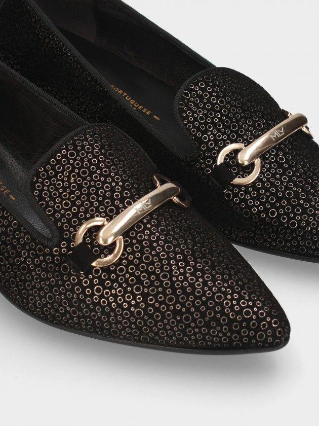 Sapatos de Salto Médio
