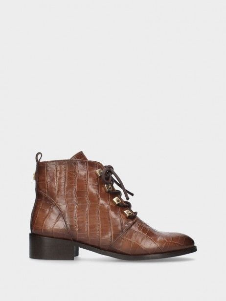 Bottines Talon Plat