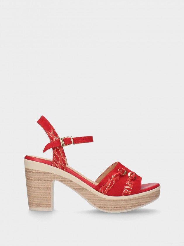 Medium Heel Female Sandals