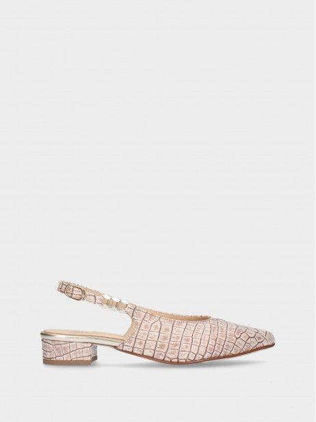 Low Heel Female Shoe