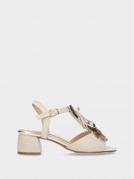 Sandales  à Talon Moyen pour Femme
