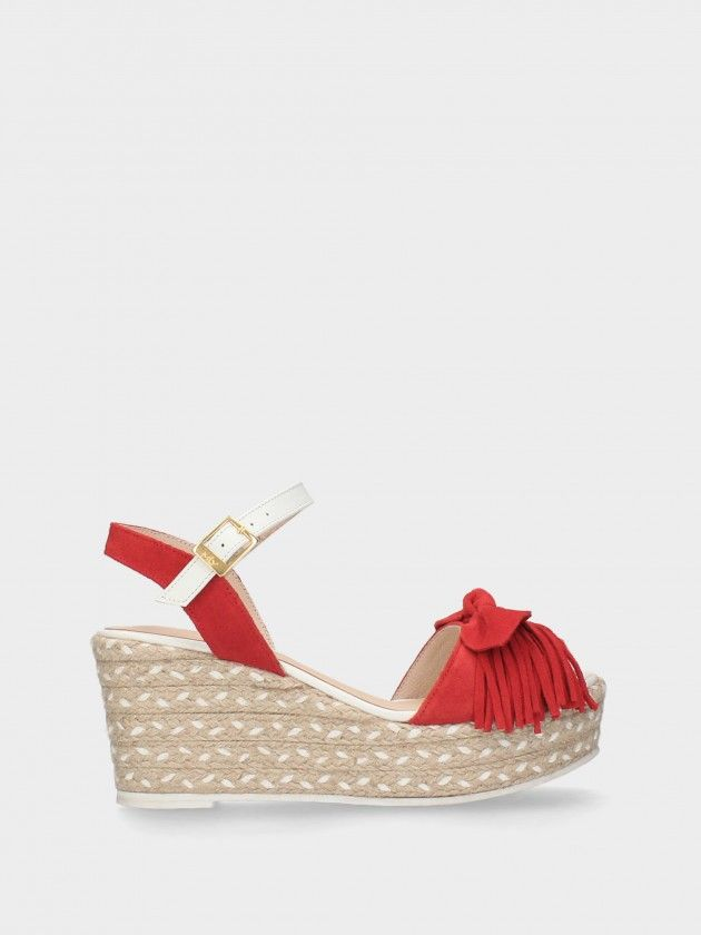 Mid Wedge Female Sandals