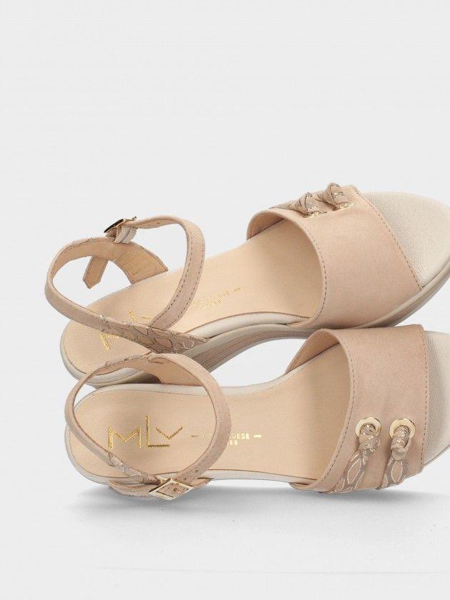 Sandales Compensée Bas