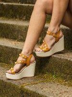 Sandales Compensée Haute