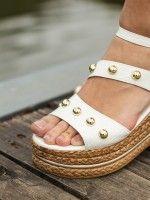 Sandálias para Mulher de Cunha Média