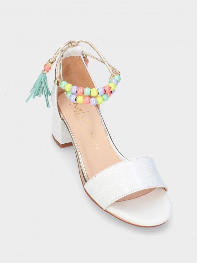 Medium Heel Sandals