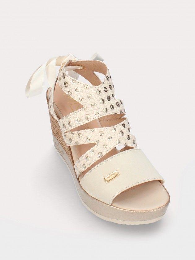 Sandales  Compensée Haut pour Femme