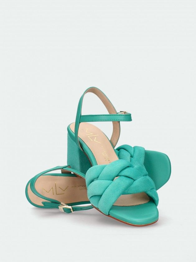 Sandálias  de Salto Médio para Mulher