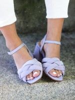 Sandales à Talon Moyen