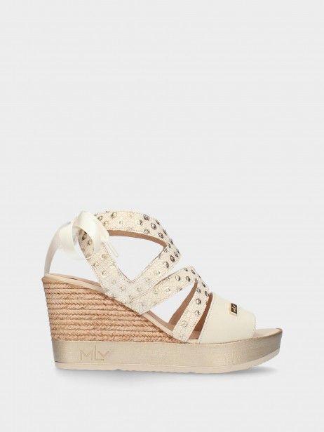 Sandálias  de Cunha Alta para Mulher