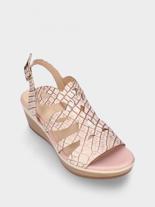 Sandales  Compensée Bas pour Femme